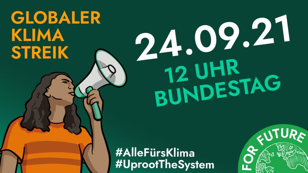 Globaler Klimastreik - 12 Uhr - Bundestag